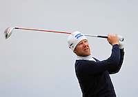 Mikko Illonen (FIN) on the 17th tee during Round 4 of the 2015 Alfred Dunhill Links Championship at the Old Course in St. Andrews in Scotland on 4/10/15.<br /> Picture: Thos Caffrey | Golffile