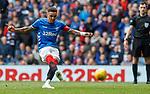 28.04.2019 Rangers v Aberdeen: James Tavernier scores no 2