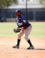 Jeudy Valdez / San Diego Padres 2008 Instructional League..Photo by:  Bill Mitchell/Four Seam Images