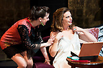 "Noemi Rodriguez and Lola Baldrich during the theater play of ""Addio del Passato"" at Fernan Gomez Theater in Madrid. March 15, 2017. (ALTERPHOTOS/Borja B.Hojas)"