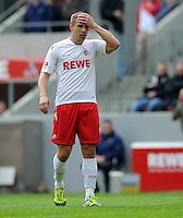 FUSSBALL   1. BUNDESLIGA   SAISON 2011/2012   29. SPIELTAG 1. FC Koeln - SV Werder Bremen                           07.04.2012 Lukas Podolski (1. FC Koeln) enttaeuscht