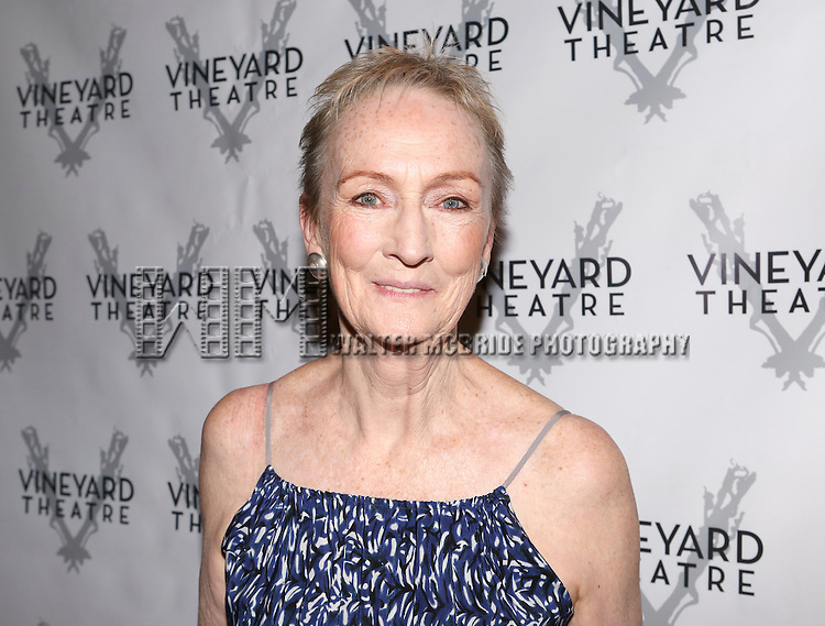 Kathleen Chalfant attending the Opening Night After Party for the Vineyard Theatre Production of 'Somewhere Fun' at the Vineyard Theatre in New York City on June 04, 2013.