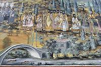BG51495.JPG BULGARIA, BATCHKOVO MONASTERY, Refectory, 1601, frescoes
