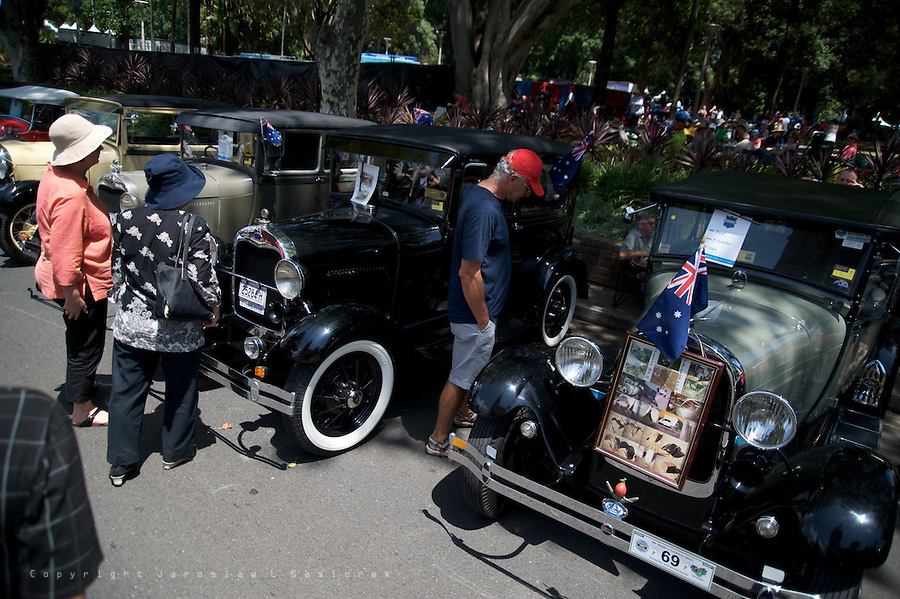 This year, NRMA Motorfest® in Sydney celebrates 25 years showcasing over 1,000 vintage, veteran and classic vehicles, including motorcycles, ex military cars, vintage fire engines and cars from Sydney's speedway.