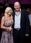 Sarah Brady at her 40th with her Husband Donal..Picture: Shane Maguire / www.newsfile.ie.