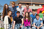 Enjoying the KDYS Youth day in the INEC on Sunday were l-r: Trish O'Shea, danny Rawson, Sandra O'Sullivan, Sean Casey. Back row: Keely Randles, Gearoid Fennessy, Darragh Twomey, Eugene O'Sullivan and Podge Foley