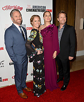 Amy Adams &amp; sister AnnaMarie &amp; brothers Dan &amp; Eddie at the American Cinematheque 2017 Award Show at the Beverly Hilton Hotel, Beverly Hills, USA 10 Nov. 2017<br /> Picture: Paul Smith/Featureflash/SilverHub 0208 004 5359 sales@silverhubmedia.com