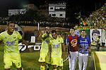 Atlético Bucaramanga venció como local 1-0 a Deportes Tolima. Semifinales ida Liga Águila II-2016.