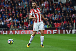 Erik Pieters of Stoke City during the premier league match at the Britannia Stadium, Stoke. Picture date 19th August 2017. Picture credit should read: Robin Parker/Sportimage