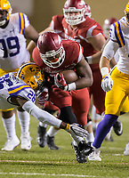 HAWGS ILLUSTRATED JASON IVESTER<br /> Arkansas vs LSU on Saturday, Nov. 12, 2016, at Donald W. Reynolds Razorback Stadium in Fayetteville.
