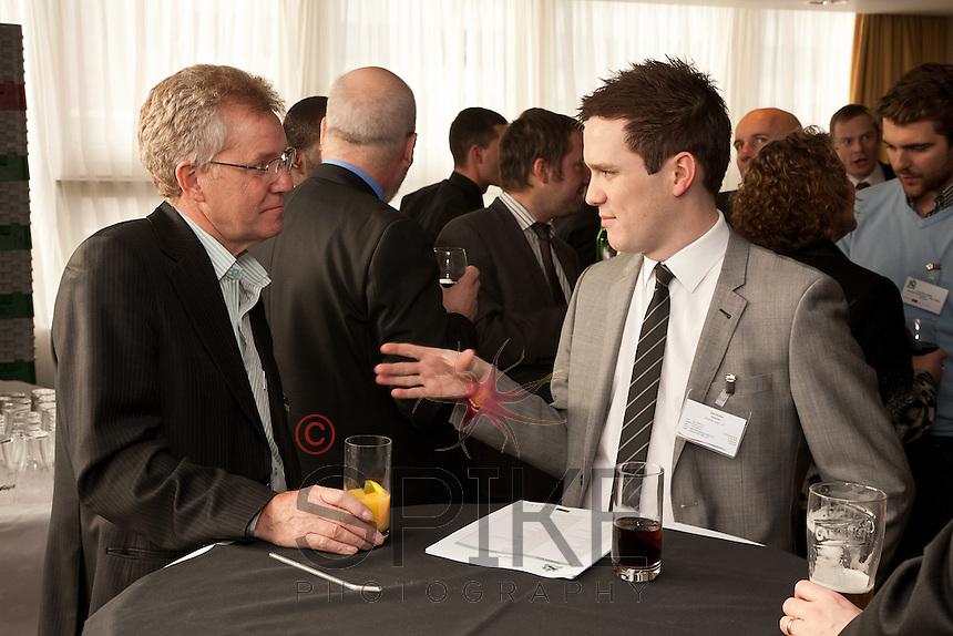 Martin Hall (left) of Halls Locksmiths and Seb Walker of Premier Legal