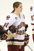 Katelyn Kurth (BC - 14) - The visiting St. Lawrence University Saints defeated the Boston College Eagles 4-0 on Friday, January 15, 2010, at Conte Forum in Chestnut Hill, Massachusetts.