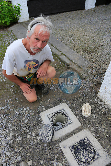 Daragh Nelson and His water Problems<br /> Picture:  Fran Caffrey www.newsfile.ie