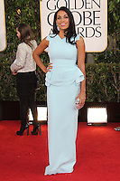 BEVERLY HILLS, CA - JANUARY 13: Rosario Dawson at the 70th Annual Golden Globe Awards at the Beverly Hills Hilton Hotel in Beverly Hills, California. January 13, 2013. Credit: mpi29/MediaPunch Inc. /NortePhoto