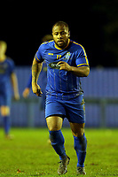 Akeem Campbell of Romford during Romford vs Coggeshall Town, BetVictor League North Division Football at the Brentwood Centre on 16th November 2019