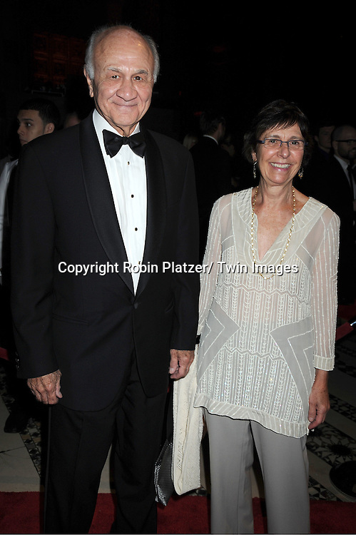 Nicholas Scoppetta and wife Susan attends The New Yorkers for Children 2011 Fall Gala .on September 20, 2011 at Cipriani 42nd Street in New York City. Carmelo Anthony was honored.