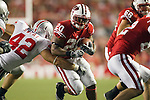 Wisconsin Badgers freshman running back James White (20) carries the ball during an NCAA college football game against the Ohio State Buckeyes on October 16, 2010 at Camp Randall Stadium in Madison, Wisconsin. The Badgers beat the Buckeyes 31-18. (Photo by David Stluka)