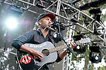 Tom Morello performs at the Outside Lands Music & Art Festival at Golden Gate Park in San Francisco, California.