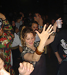 "Drew Barrymore drinking Vodka Tonics and Dancing at a opening of a store called ""The Echo"" in L.A on 4-7-07 saturday night. Wearing La mode Bracelet. Exclusive."