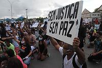 05/06/2020 - MANIFESTANTES PEDEM JUSTIÇA POR MENINO MORTO APÓS QUEDA DE PRÉDIO EM RECIFE