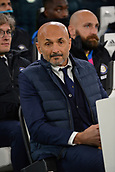 9th December 2017, Allianz Stadium, Turin, Italy; Serie A football, Juventus versus Inter Milan; Luciano Spalletti, the coach of Inter