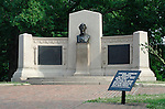 Lincoln Address Memorial, a monument commemorating the Gettysburg Address, Gettysburg National Military Park, Pennsylvania, USA