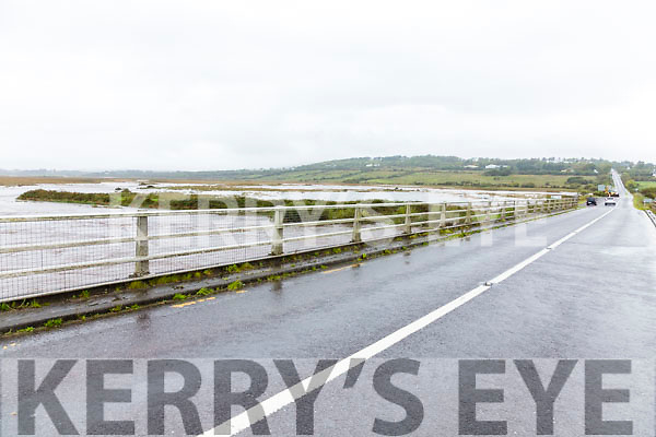 The Inny Bridge on the N70 Ring of Kerry Road where in the early hours of Tuesday morning just over four feet of water rushed over the road.