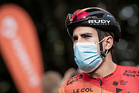Mikel Landa (ESP/Bahrein-McLaren) at the race start in Clermont-Ferrand<br /> <br /> Stage 1: Clermont-Ferrand to Saint-Christo-en-Jarez (218km)<br /> 72st Critérium du Dauphiné 2020 (2.UWT)<br /> <br /> ©kramon