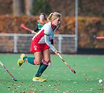 TILBURG  - hockey-  Kirsten Klop (MOP) , tijdens de wedstrijd Were Di-MOP (1-1) in de promotieklasse hockey dames. COPYRIGHT KOEN SUYK