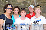 Marie O'Donoghue, Aileen Murphy, Mary B O'Shea, Breda Lynch and Aidan Doherty Killarney who competed in the Killarney Lions club mini marathon in Killarney on Sunday