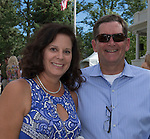 Rebecca and Mike Zunini during the 48th Annual Nevada Athletics Governor's Dinner at the Governor's Mansion  in Carson City on  Friday, July 8, 2016.