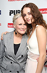 """Glenn Close and Grace Van Patten attends the Opening Night Celebration for """"Mother of the Maid"""" on October 18, 2018 at the Public Theatre in New York City."""