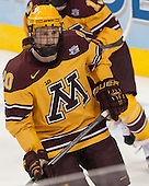 Michael Brodzinski (MN - 20) - The University of Minnesota Golden Gophers defeated the University of North Dakota 2-1 on Thursday, April 10, 2014, at the Wells Fargo Center in Philadelphia to advance to the Frozen Four final.