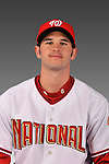 14 March 2008: ..Portrait of Ryan Harrison, Washington Nationals Minor League player at Spring Training Camp 2008..Mandatory Photo Credit: Ed Wolfstein Photo