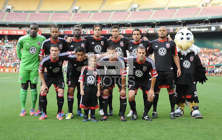 D.C. United Starting Eleven. D.C. United defeated Montreal Impact 3-0 at RFK Stadium, Saturday June 30, 2012.