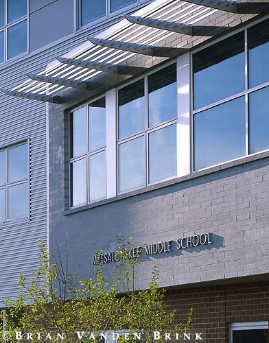 Stephen Blatt Architects.Mesalonski School.Oakland, Me.