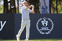 Soren Kjeldsen (DEN) tees off the 9th tee during Saturday's Round 3 of the 2018 Turkish Airlines Open hosted by Regnum Carya Golf &amp; Spa Resort, Antalya, Turkey. 3rd November 2018.<br /> Picture: Eoin Clarke | Golffile<br /> <br /> <br /> All photos usage must carry mandatory copyright credit (&copy; Golffile | Eoin Clarke)