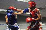 Aaron Bird (Wales) Vs. Zach Bagalupp (Aus) - Aaron wins 23-7..Boxing - Wales v Australia WABA - 2nd November 2012 - Sophia Gardens - Cardiff - Wales - UK..© www.sportingwales.com- PLEASE CREDIT IAN COOK - SPORTINGWALES
