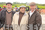 Ballybunnion men Sean Stack, Andrew Pierce and Padraig O'Connor who travelled to Asdee for the annual horse races last Sunday afternoon.