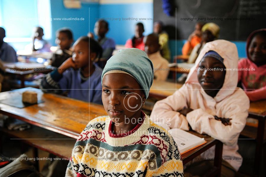NIGER Zinder, children in school  NIGER Zinder, Kinder in einer Schule