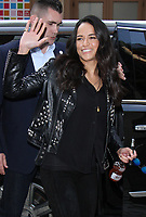 APR 05 Michelle Rodriguez Seen In NYC