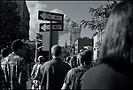 From Sixth Avenue, Greenwich Village, September 11, 2001...2001 © James KEYSER / CONTACT Press Images