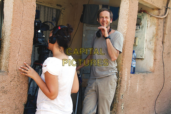Human (2015) <br /> Baptiste and Anastasia in Senegal : &quot; Silence, Action! &quot;<br /> *Filmstill - Editorial Use Only*<br /> CAP/KFS<br /> Image supplied by Capital Pictures