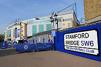 General view of the entrance to Chelsea FC during Chelsea Under-23 vs Arsenal Under-23, Premier League 2 Football at Stamford Bridge on 15th April 2019