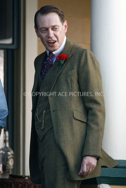 """WWW.ACEPIXS.COM . . . . . .August 17, 2011...New York City...Steve Buscemi  on the set of """"Boardwalk Empire""""  on August 17, 2011 in New York City.....Please byline: CURTIS MEANS - ACEPIXS.COM.. . . . . . ..Ace Pictures, Inc: ..tel: (212) 243 8787 or (646) 769 0430..e-mail: info@acepixs.com..web: http://www.acepixs.com ."""