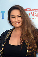 LOS ANGELES, CA - FEBRUARY 03: Tia Carrere at the premiere of Columbia Pictures' 'Peter Rabbit' at The Grove on February 3, 2018 in Los Angeles, California. <br /> CAP/MPI/DE<br /> &copy;DE//MPI/Capital Pictures