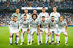 Players of Real Madrid line up and pose for a photo prior to the UEFA Champions League 2017-18 match between Real Madrid and APOEL FC at Estadio Santiago Bernabeu on 13 September 2017 in Madrid, Spain. Photo by Diego Gonzalez / Power Sport Images