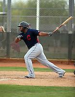 Jesus Aguilar - Cleveland Indians 2016 spring training (Bill Mitchell)