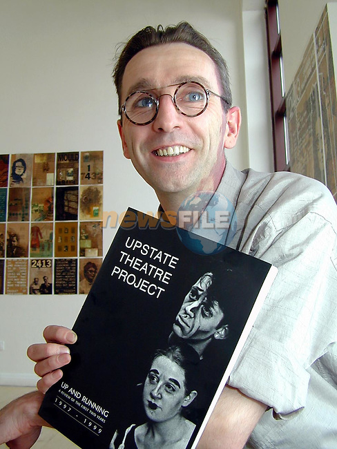 Declan Gorman of the Upstate Theatre Project..Picture Paul Mohan Newsfile