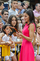 MADRID, SPAIN-July 09: ***NO SPAIN*** Queen Letizia of Spain attends Meeting of the Council of the Royal Board on Disability and delivery of the 'Queen Letizia 2018 Awards' at Corral de Comedias Theater on July 9, 2019 in Almagro, Spain. <br /> CAP/MPI/RJO<br /> ©RJO/MPI/Capital Pictures